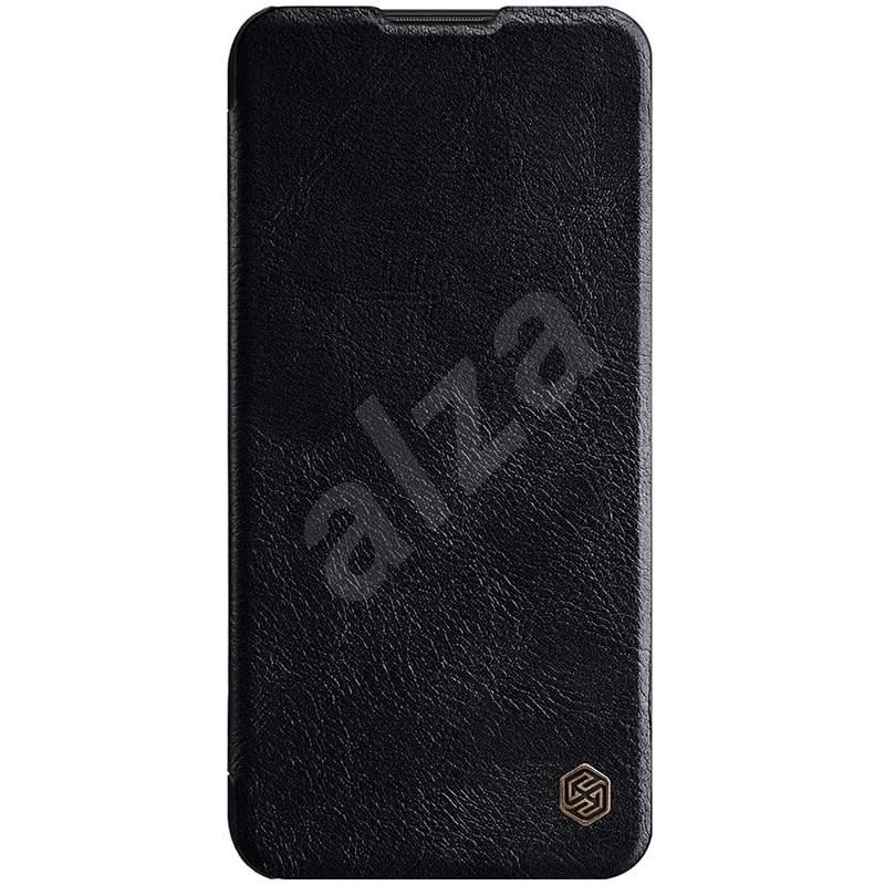 Nillkin Qin bőrtok Samsung Galaxy A11 készülékhez - fekete - Mobiltelefon tok