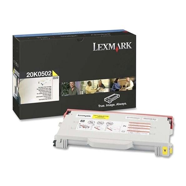 LEXMARK 20K0502 sárga - Toner
