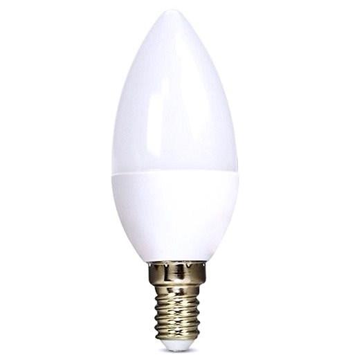 Solight LED izzó gyertya E14 6W 3000K - LED izzó