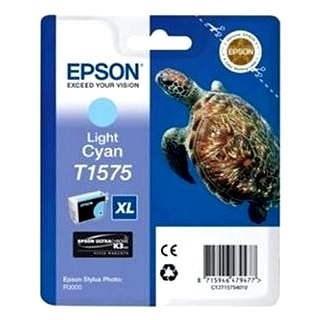 Epson T1575 világos cián - Tintapatron