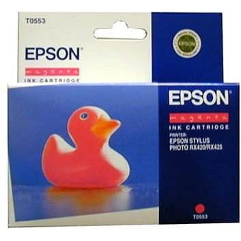 Epson T0553 bíbor - Tintapatron