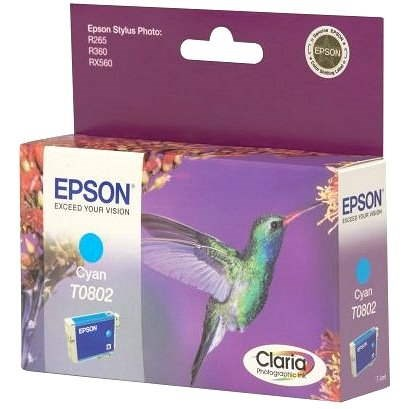 Epson T0802 égszínkék - Tintapatron