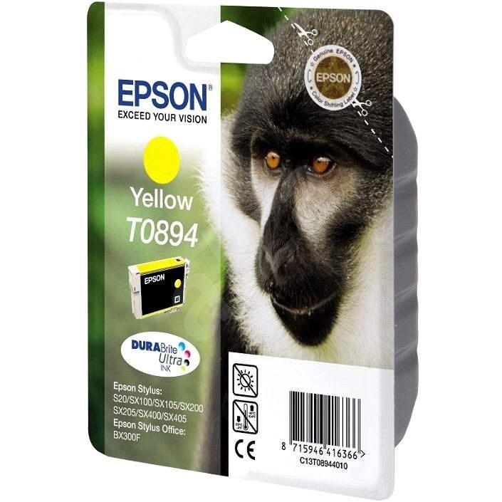 Epson T0894 sárga - Tintapatron