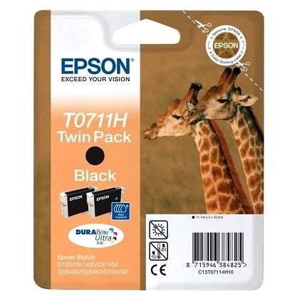 Epson T0711H dualpack fekete - Tintapatron