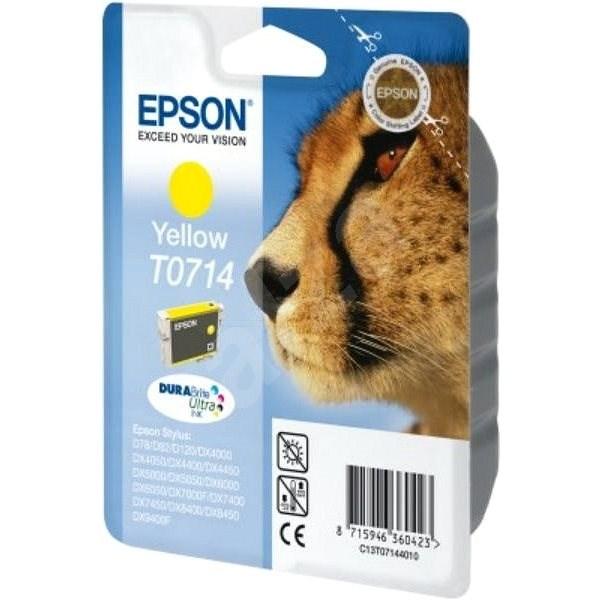 Epson T0714 sárga - Tintapatron