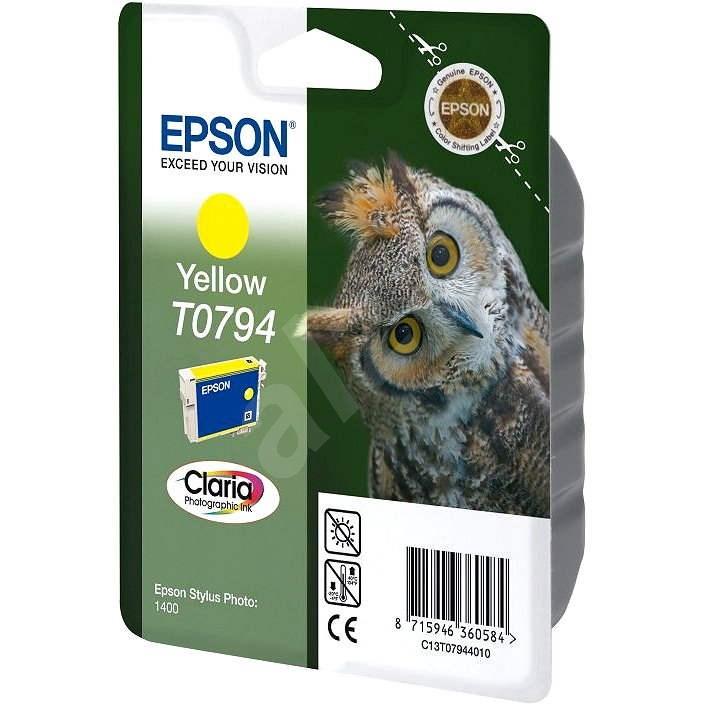 Epson T0794 sárga - Tintapatron