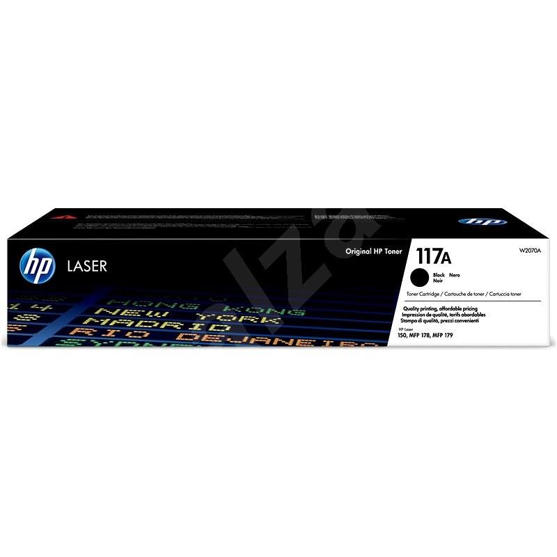 HP W2070A sz. 117A, fekete - Toner