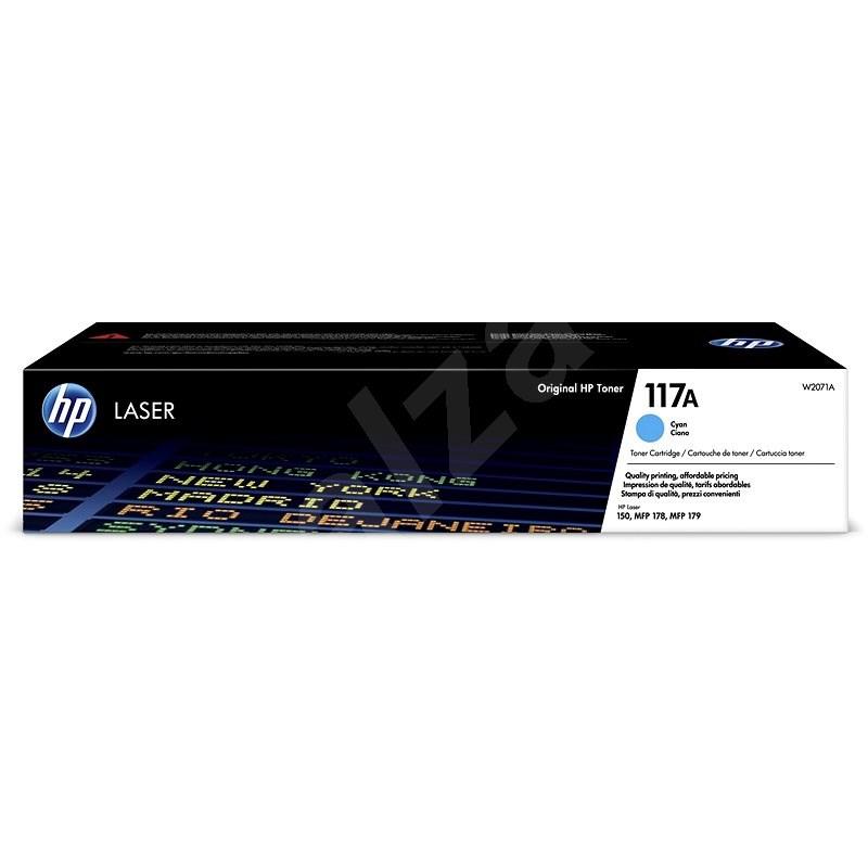 HP W2071A sz. 117A, ciánkék - Toner