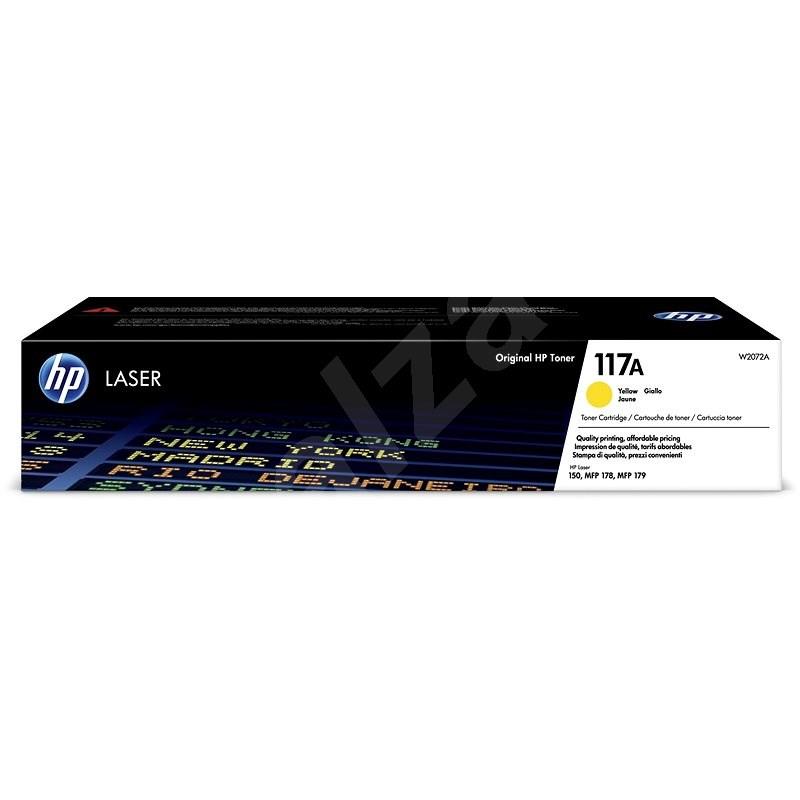 HP W2072A sz. 117A, sárga - Toner