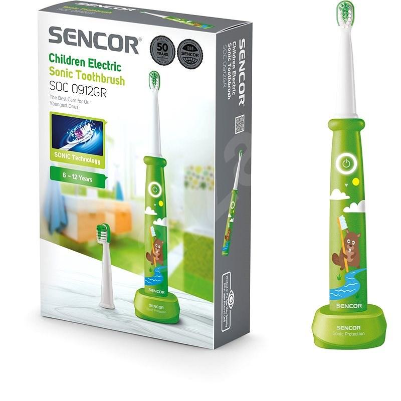 SENCOR SOC 0912GR - Gyerek elektromos fogkefe
