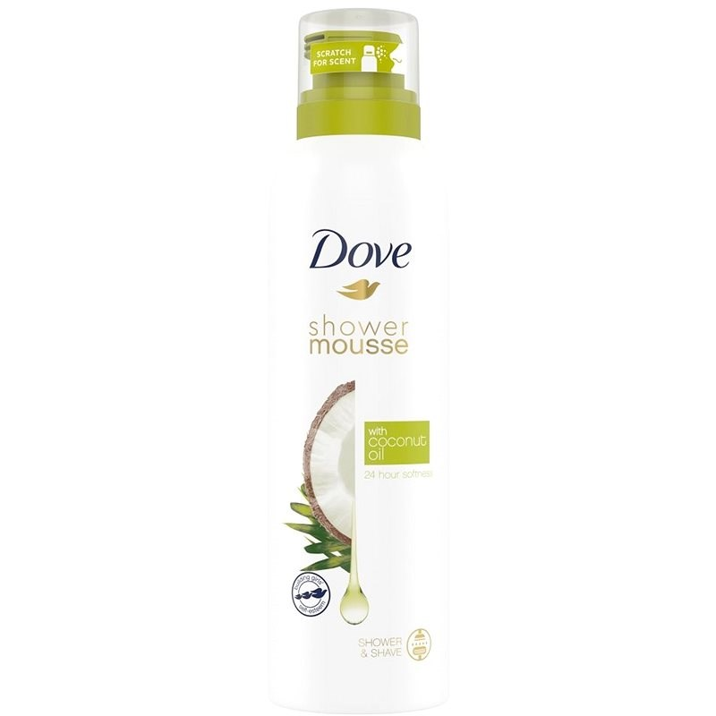 DOVE Coconut Oil Shower Mousse 200 ml - Habfürdő