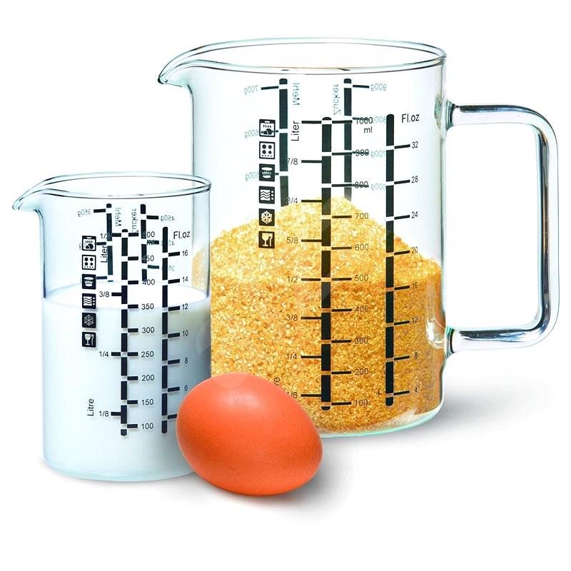 SIMAX Üveg mérőedény 2 db - Kimérő