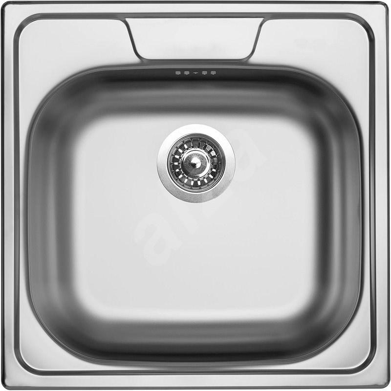 SINKS CLASSIC 480 V 0,8 mm polírozott - Rozsdamentes acél mosogató