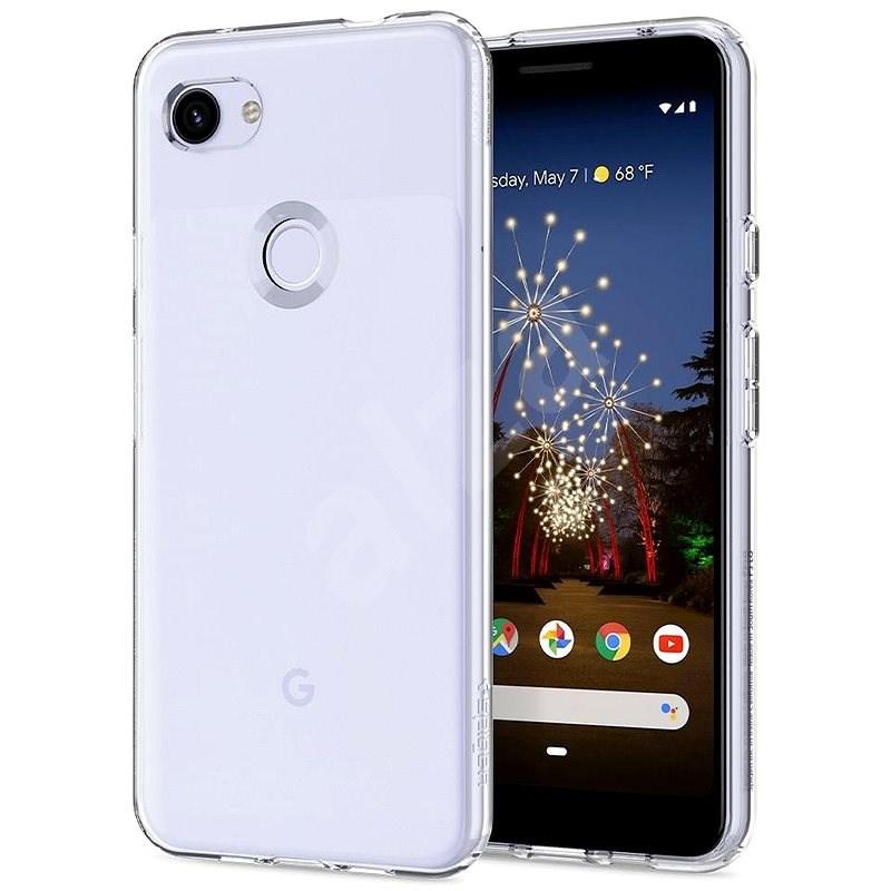 Spigen Liquid Crystal Clear Google Pixel 3a - Mobiltelefon hátlap