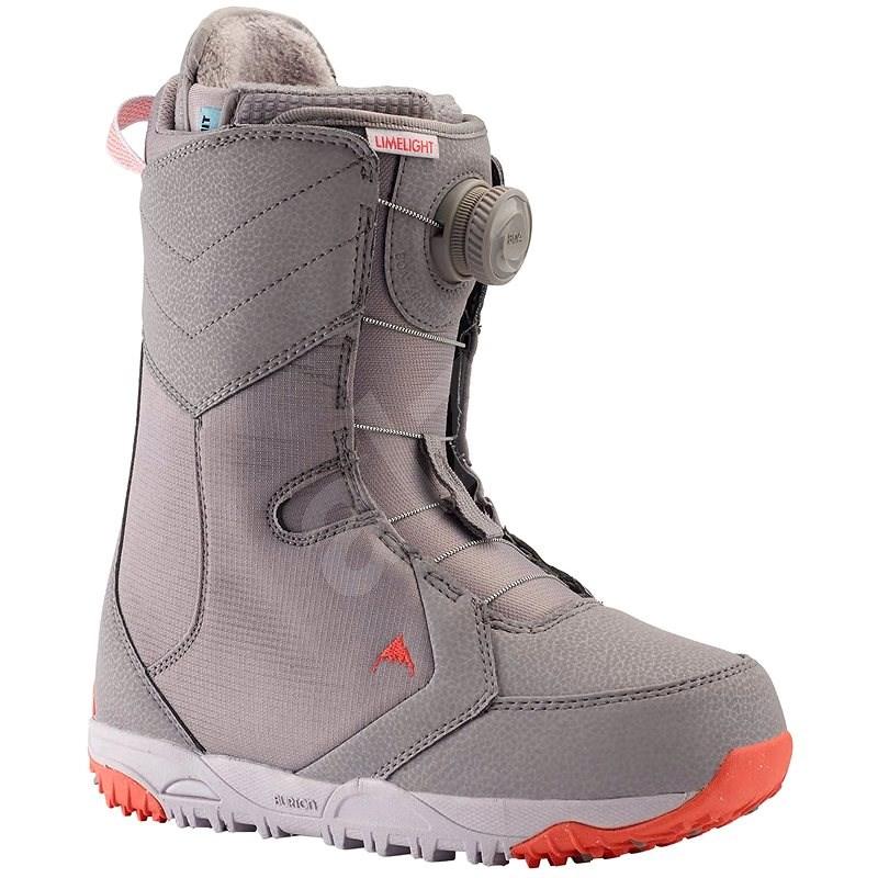 Burton LIMELIGHT BOA LILAC GRAY, mérete 40 EU/ 250 mm - Snowboard cipő