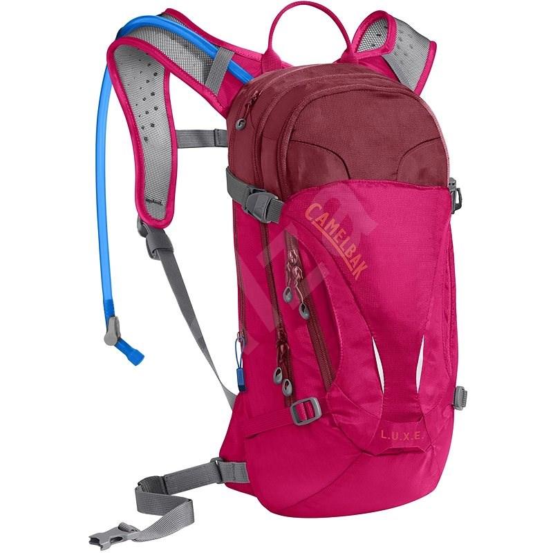 CAMELBAK LUXE Cerise/Pomegranate - Kerékpáros hátizsák