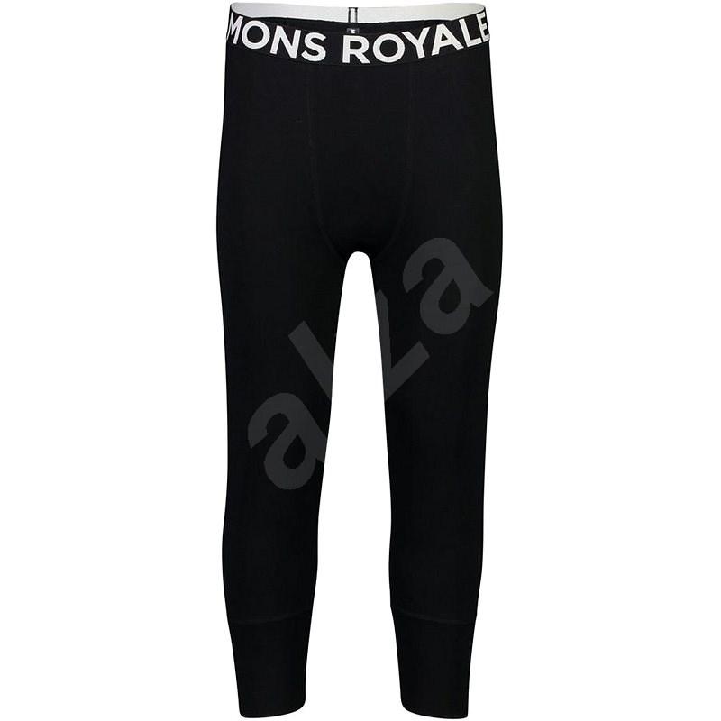 Mons Royale Shaun-Off 3/4 Legging Black M méret - Legging