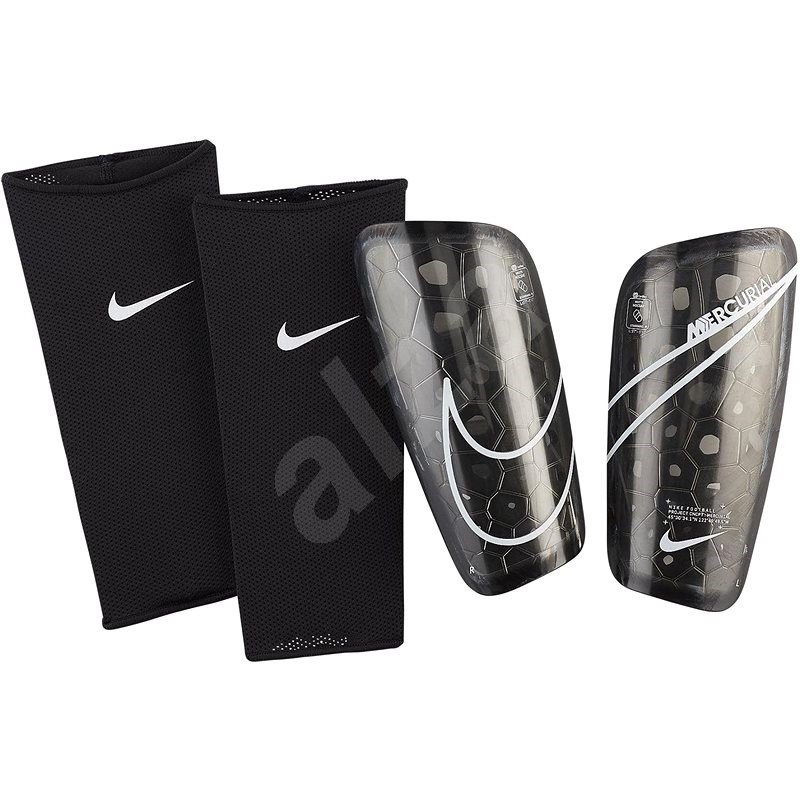 Nike Mercurial Lite fekete, méret: L - Sípcsontvédő