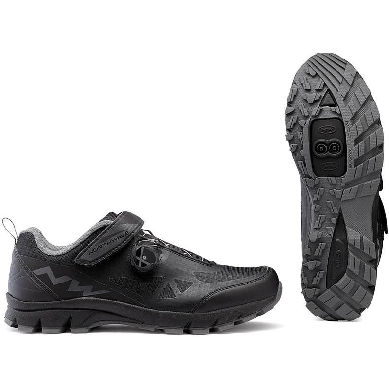 Northwave Corsair fekete / fekete EU 42/270 mm - Kerékpáros cipő