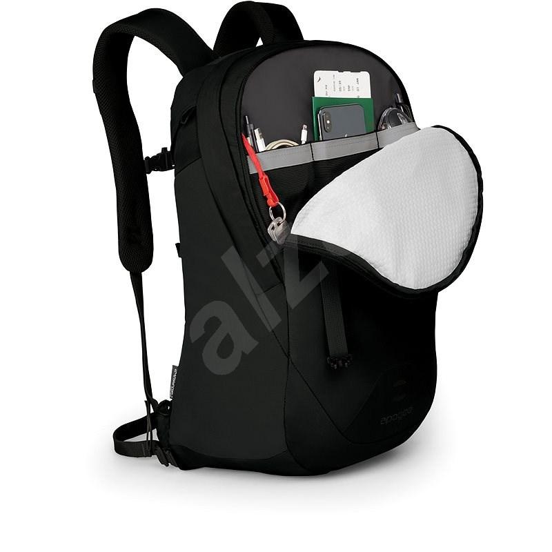 Osprey Apogee Black - Városi hátizsák