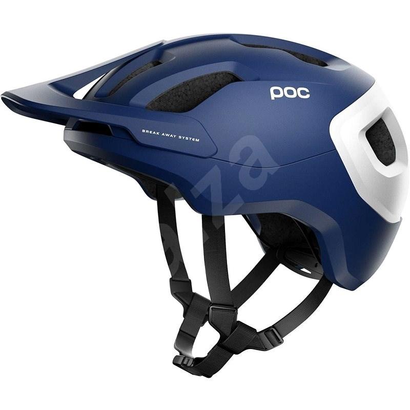 POC Axion SPIN Lead Blue Matt XSS - Kerékpáros sisak