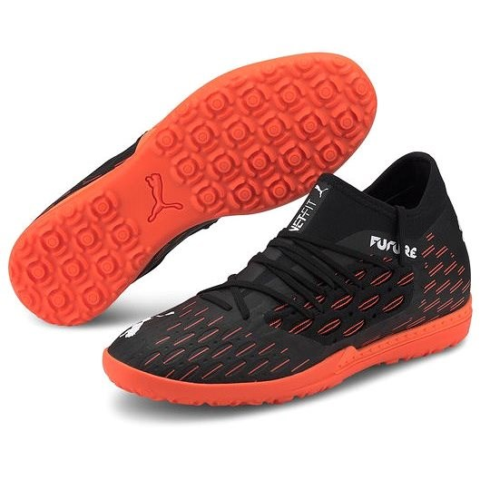 PUMA FUTURE 6.3 NETFIT TT fekete/narancsszín EU 44/285 mm - Futballcipő