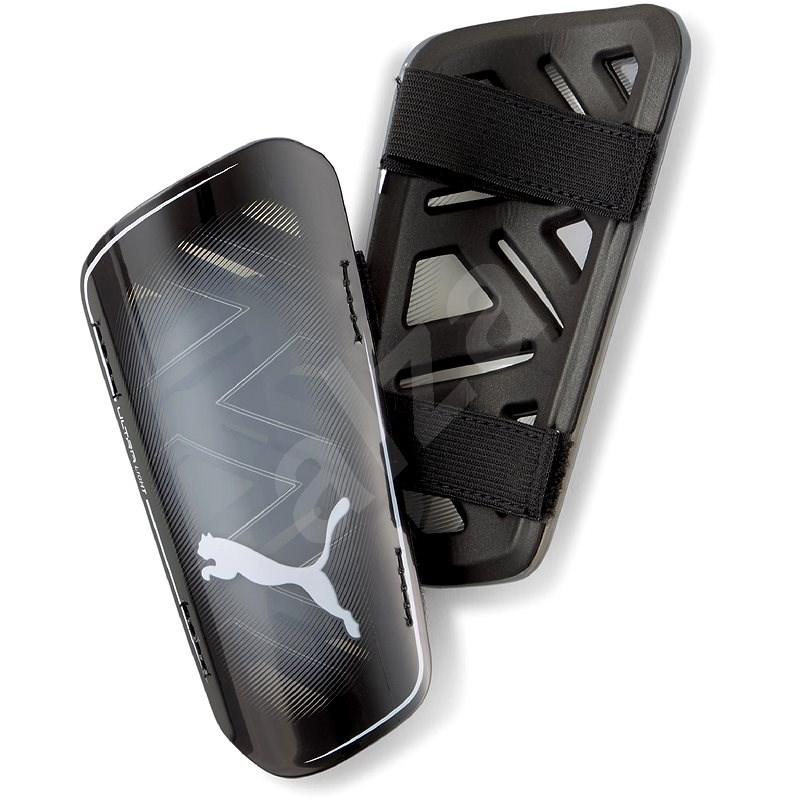 PUMA Ultra Light Strap fekete / szürke L méret - Sípcsontvédő