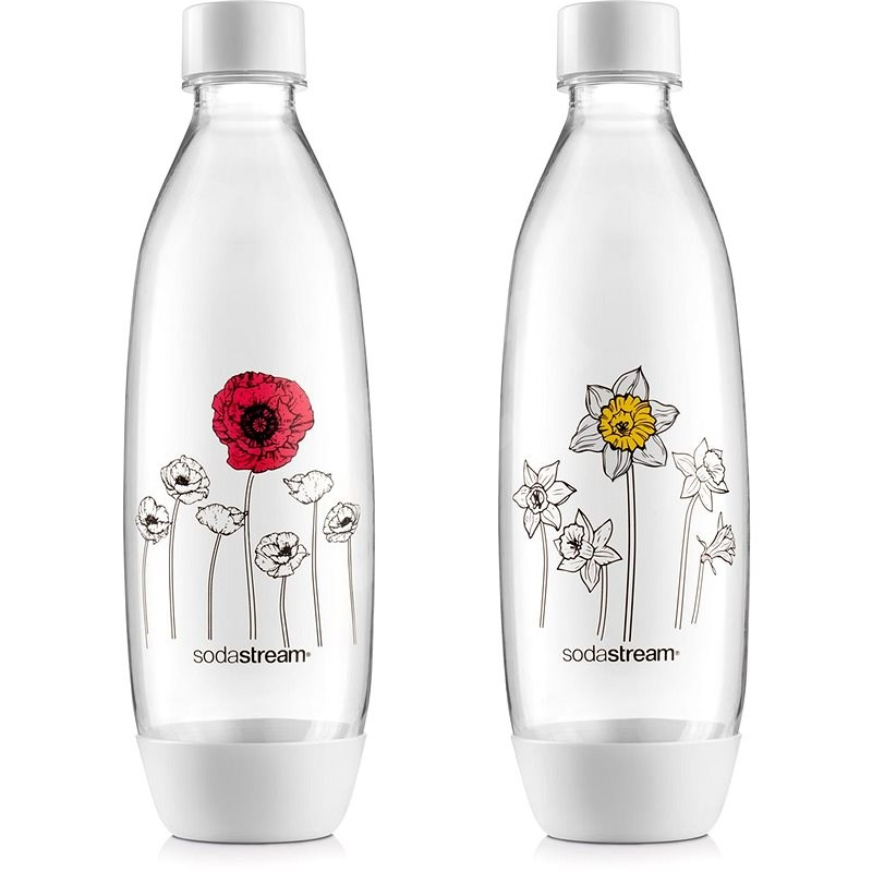 SodaStream palack virágok FUSE 2 x 1 l - Csere palack