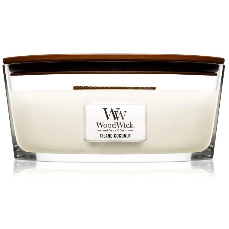 WOODWICK Island Coconut Hearthwick Candle 453,6 g - Gyertya