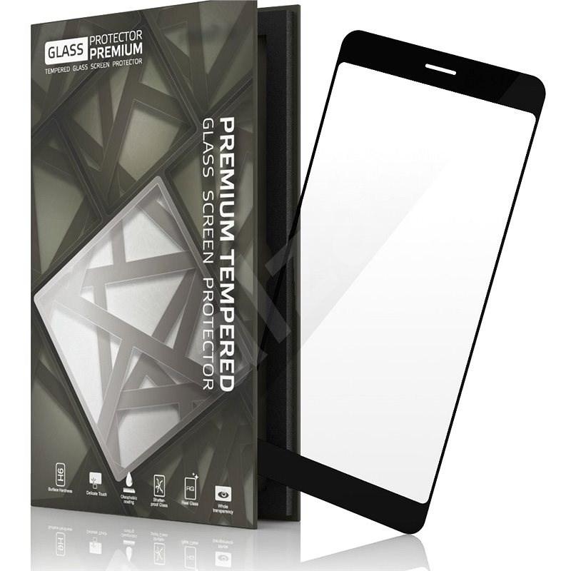 Tempered Glass Protector Nokia 7 fekete okostelefonhoz - Képernyővédő