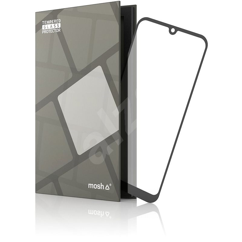 Tempered Glass Protector Honor 8S / 8S 2020 készülékhez - keretes, fekete - Képernyővédő