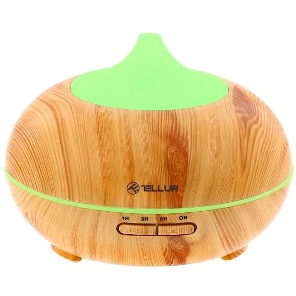 Tellur WiFi Smart aromadiffúzor, 300 ml, LED, barna - Aroma diffúzor