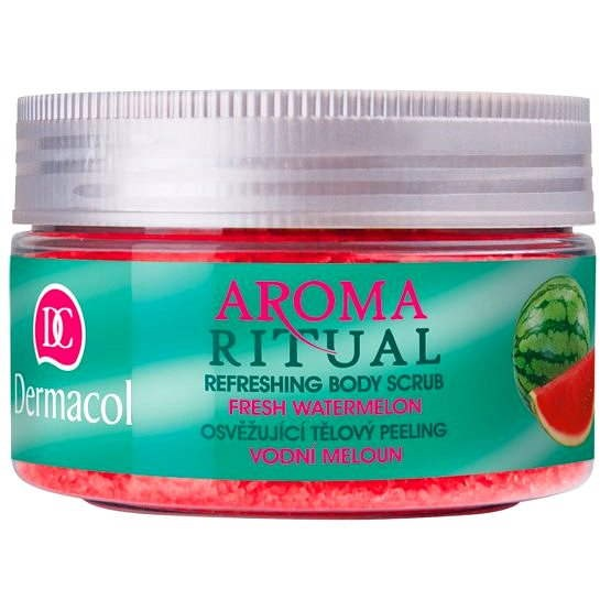 DERMACOL Aroma Ritual Body Scrub Fresh Watermelon 200 g - Hámlasztó
