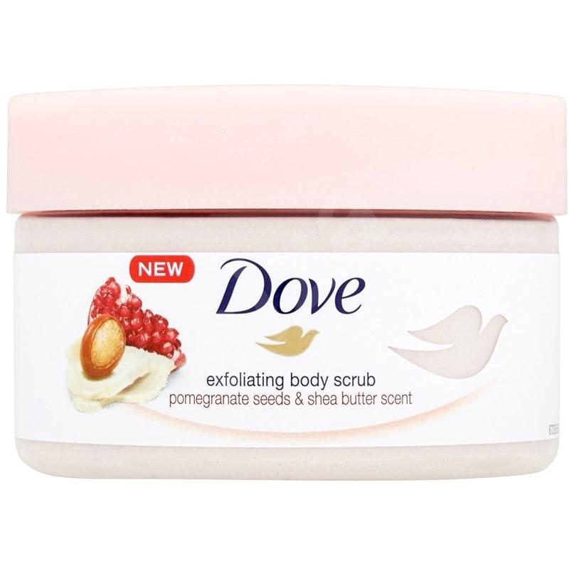 DOVE Pomegranate Seeds & Shea Butter Scent Body Scrub 225 ml - Hámlasztó