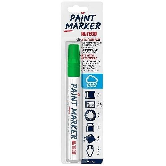 ALTECO Paint Marker zöld marker - Dekormarker