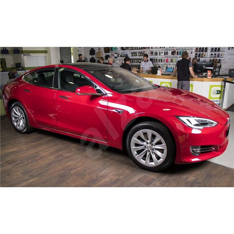 TESLA Model S 75D piros - Elektromos autó