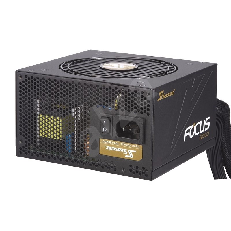 Seasonic Focus 750 Gold Semi-modular - PC tápegység