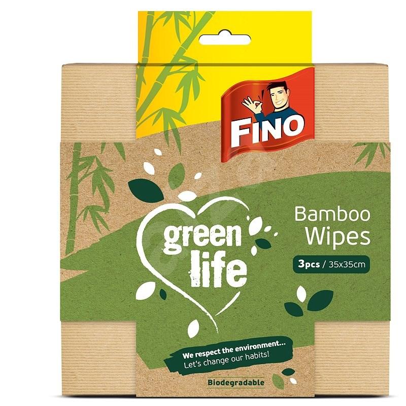 FINO Green Life multifunkciós törlőkendő, bambusz, 3 db - Törlőkendő