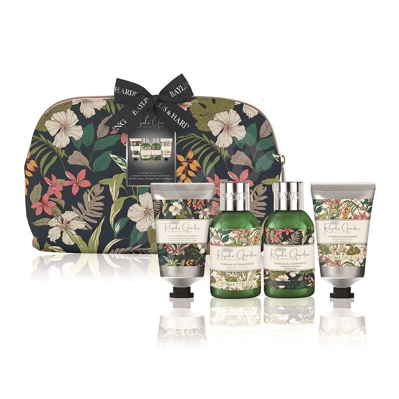 Baylis & Harding Testápoló ajándék szett Verbena & Chamomile kozmetikai táskában - Kozmetikai ajándékcsomag