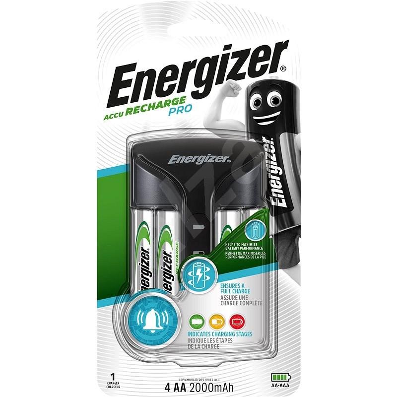 Energizer Pro töltő + 4AA Power Plus 2000mAh - Elem töltő