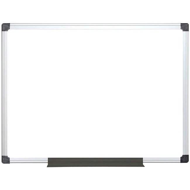 VICTORIA 60x90cm - fehér, alumínium keret - Mágneses tábla