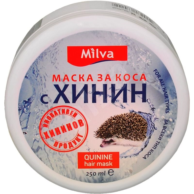 MILVA Kinin maszk 250 ml - Hajpakolás