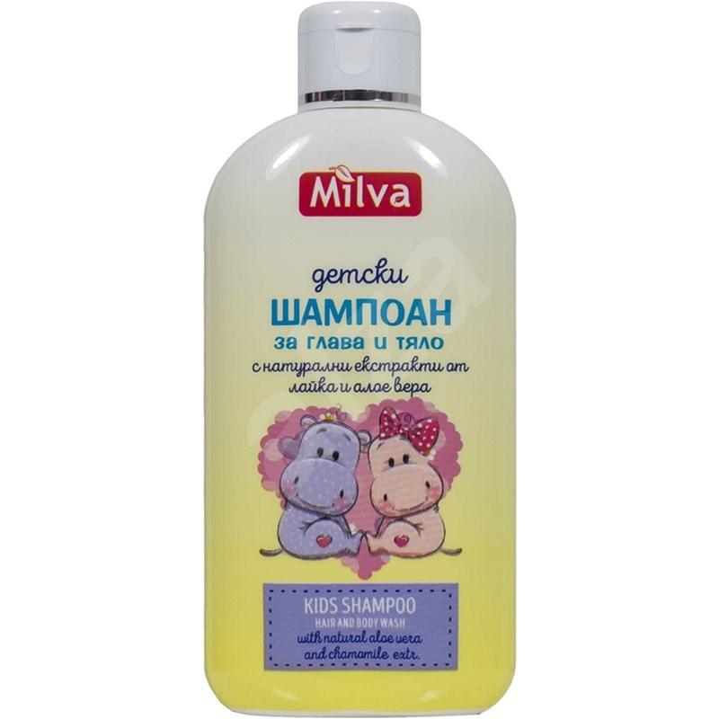 MILVA 200 ml-es természetes sampon gyerekeknek - Gyerek sampon