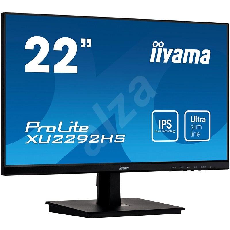 "22"" iiyama XU2292HS-B1 - LCD LED monitor"
