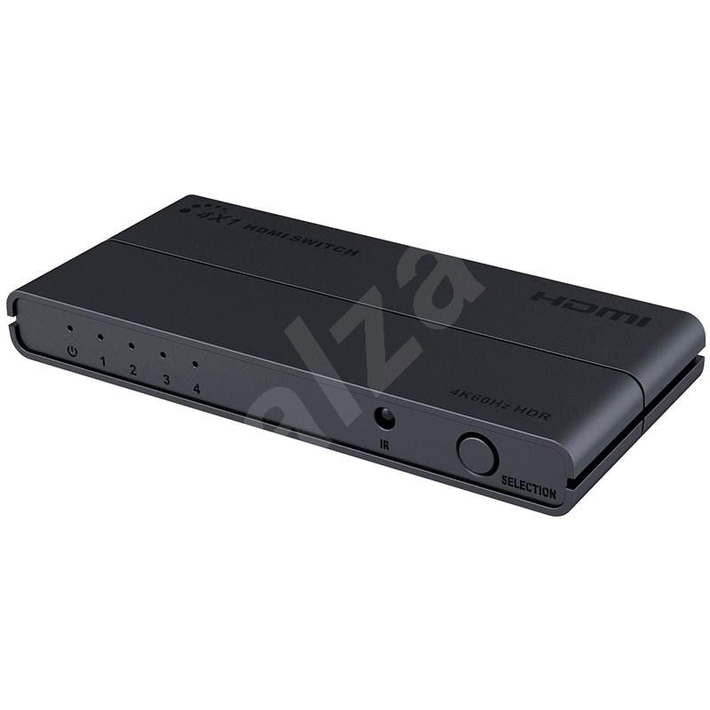 PremiumCord HDMI switch 4:1, 4Kx2K@60Hz - Switch