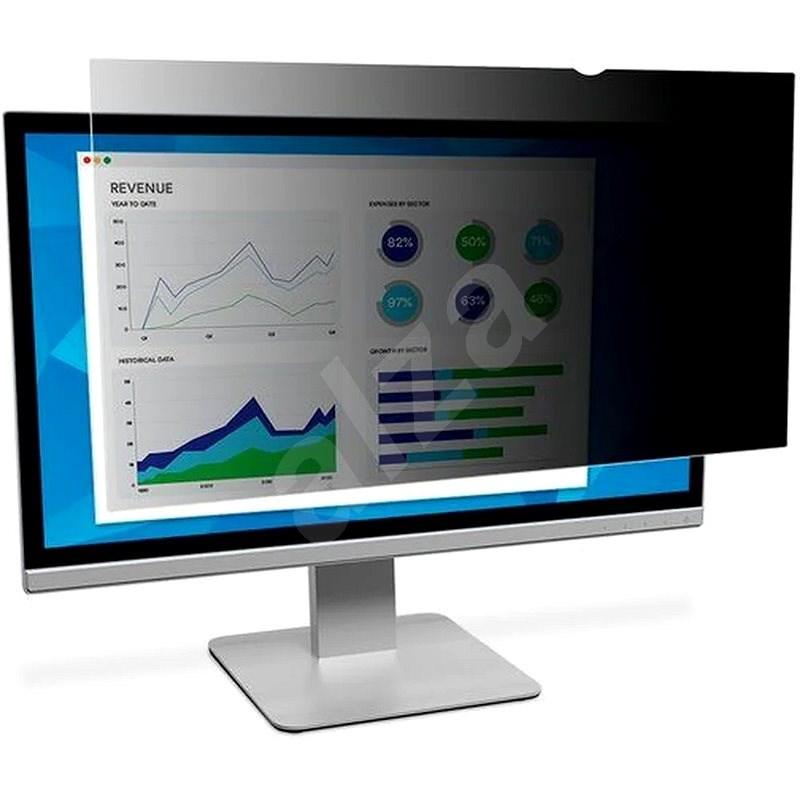 """3M Képernyővédő 22""""-os LCD kijelzőhöz, 16:10, fekete - Betekintésvédelmi monitorszűrő"""