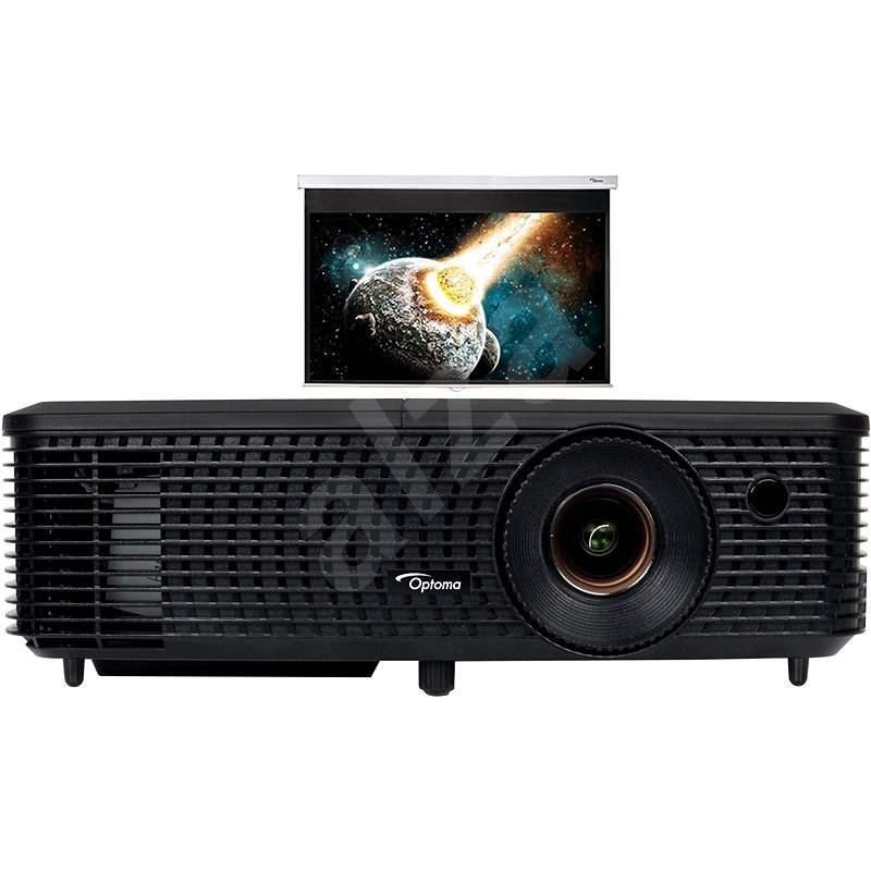 Optoma DX349 projektor + DS-9084PMG+ vetítővászon - Projektor