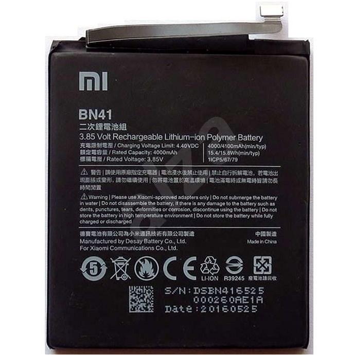 Xiaomi BN41 akkumulátor 4100mAh (Bulk) - Mobiltelefon akkumulátor