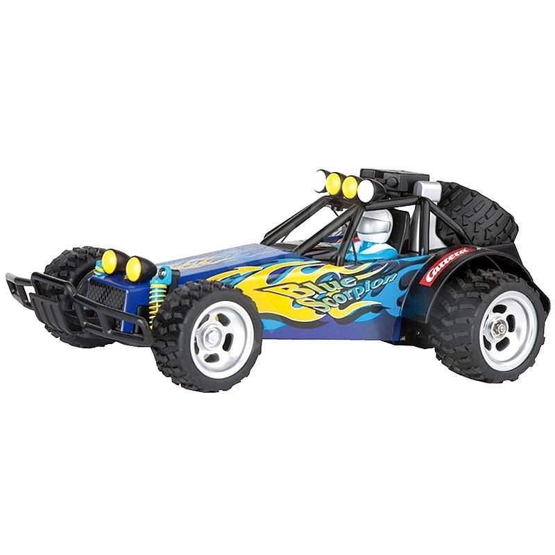 Carrera Buggy Blue Scorpion  - RC model