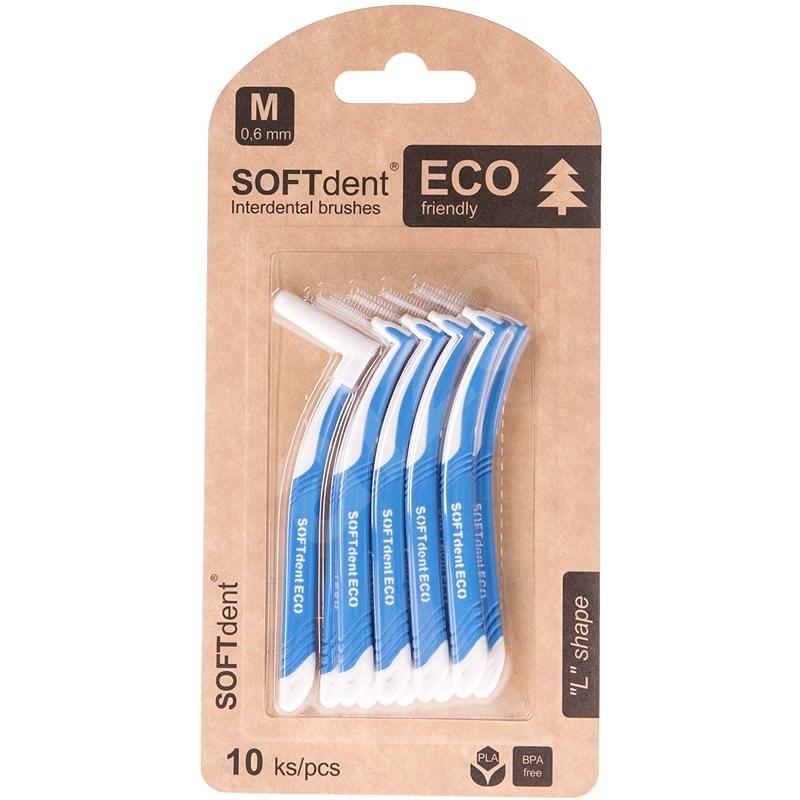 """SOFTdent Eco """"L"""" rendszer 0,6 mm, 10 db - Fogköztisztító kefe"""